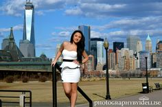 Sweet Sixteen Session in Liberty State Park with NYC View