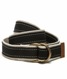 L.L.Bean Signature Canvas Belt.  Made like out Boat and Tote handles - right here in Maine. $59