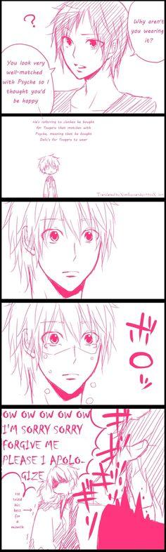 xD poor Tsugaru, at least you tried