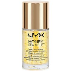 Nyx Professional Makeup Honey Dew Me Up Primer (345 MXN) ❤ liked on Polyvore featuring beauty products, makeup, face makeup, makeup primer, no color and nyx