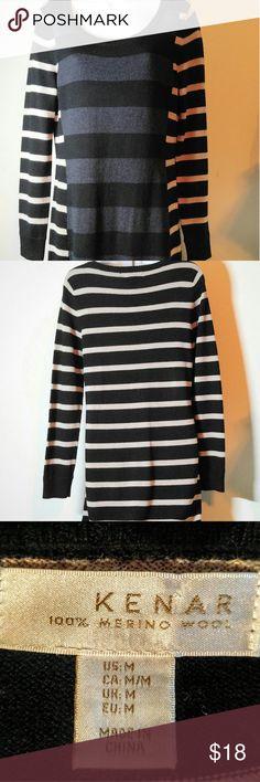 Sweater Dress Kenar Sweater Dress - 100% Merino Wool- 37 inches in length from Shoulder to Hem. Like New!! Kenar Dresses