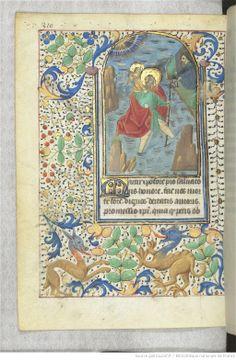 Horae ad usum romanum. Author : Url of the page : http://gallica.bnf.fr/ark:/12148/btv1b52501939c/f320.item