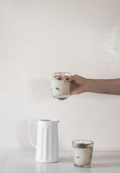 The Coffee Ice Cube Latte + My Steller Obsession - offbeat + inspired