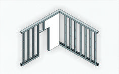 Gallery of Steel Frame and Wood Frame: The Benefits of Dry Construction Systems - 3