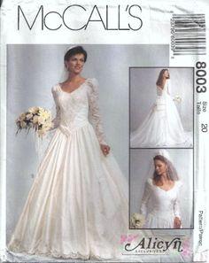 1992 wedding dress