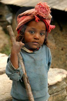 Nepalese girl, Nepal