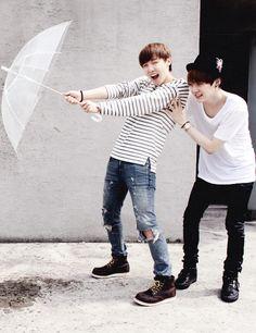 Bangtan Boys - Hoseok (j-hope) & Yoongi (suga) | weheartit.com