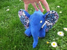 Słonik z Burdy, Elephant made from Burda template