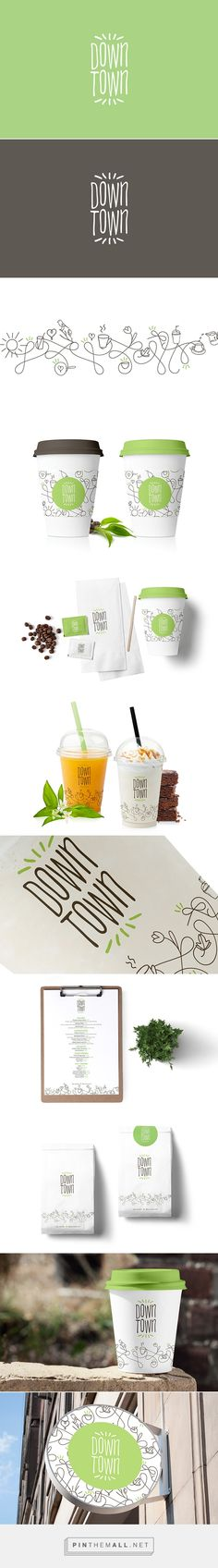 DownTown Deli & Cafe designed by Mohd Almousa
