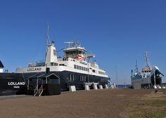 Færgen Lolland på ruten Spodsbjerg -Tårs.