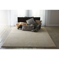 Nourison Nepal Curved Lines Manil Rug