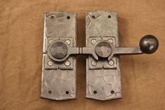 PONDEROSA FORGE  Barn Door Latch