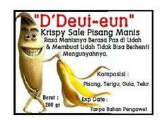 DDeuieun-KrispySalePisangManis Banana, Fruit, Food, Essen, Bananas, Meals, Fanny Pack, Yemek, Eten