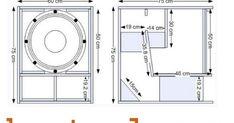 Kumpulan skema box speaker lapangan terlengkap dan terbaru 15 Subwoofer Box, Subwoofer Box Design, Speaker Box Design, Diy Amplifier, Speaker Plans, Bass Amps, Circuit Diagram, Car Audio, Mobiles
