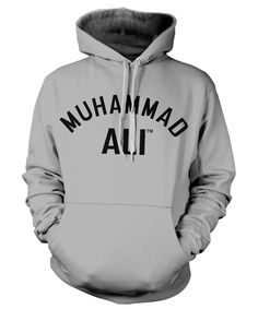 Muhammad Ali Grey Hoodie