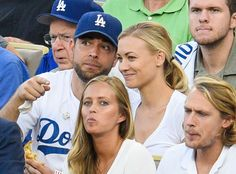Chuck Reunion! Zachary Levi & Yvonne Strahovski Are Hanging Out, Reunite at Dodgers-Mets Game 5—See Pics!  Zachary Levi, Yvonne Strahovski, Dodgers