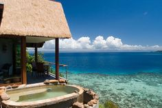 Fiji - one f the most beautiful and romantic resorts ( not full of tourists)