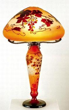 Art nouveau : Emile Gallé - Vases en verre camé More At FOSTERGINGER @ Pinterest