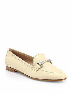Salvatore Ferragamo My Informal Horsebit Leather Loafers