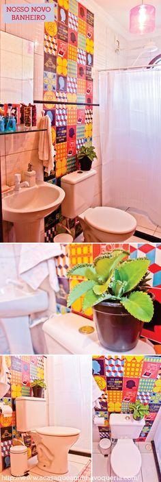 A GRANDE transformação do nosso banheiro (Sem gastar rios de dinheiro)