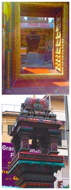 Hindu temple , I wasn't allowed to take photos inside but there was many symbols of occult Bangkok Thailand