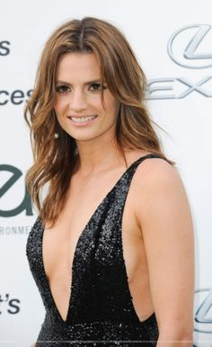 EVENTS: Stana Katic at the 25th Environmental Media Awards (2015)