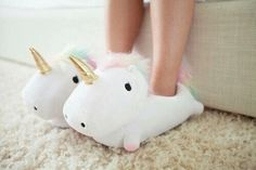 unicorn, shoes, and slippers image