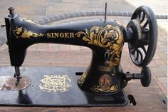 Singer Sewing Machine Decal Patterns. Photo Gallery Of Decal Designs. SIMANCO