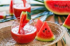 Supreme Kidney Cleansing Juice : Watermelon, Limes, & Mint