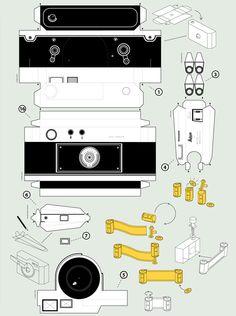 build a paper camera