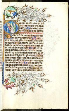 Resultado de imagen de iniziale illuminata manoscritto maria annunciazione