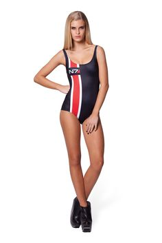 N7 Swimsuit by Black Milk Clothing
