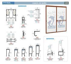 Cancel de Baño Perfiletto ®  Catálogo Virtual Perfiletto