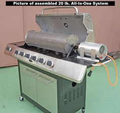 All-In-One-20-lb-Capacity-Drum-Grill-High-Speed-Motor-Coffee-Roaster-System