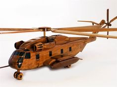 CH-53 Stallion Helicopter - Premium Wood Designs #Helicopter #Military premiumwooddesign...