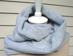 Fleece Infinity Scarf by ShaggyBaggy on Etsy, $19.00