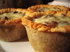 Beer, bacon and pork pie