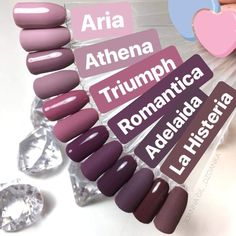 Color mauve All the colors I love on my nails! All the colors I love on my nails! Cute Acrylic Nails, Cute Nails, Pretty Nails, My Nails, Opi Gel Nails, Nail Nail, Shellac, Nagellack Trends, Dream Nails