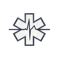 Broderie Croix de vie ECG