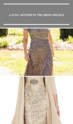 Wow! Love this Mother Of The Bride Dress. Great color and really stylish . . . #bridalgown #weddingdress #motherofthebride #longgown #stylish #pearlandcreek mother of the bride outfit 21 Long Mother Of The Bride Dresses | Wedding Dresses Guide