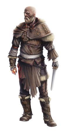 ArtStation - Amanach the Warlord, Giuseppe De Iure Dave's grandfather