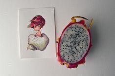 Fruit as Characters // by Marija Tiurina