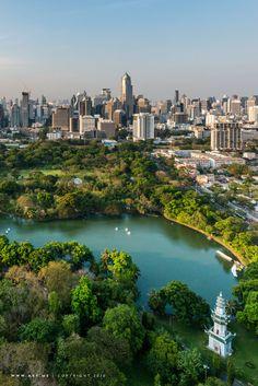 Bangkok view from Park Society.