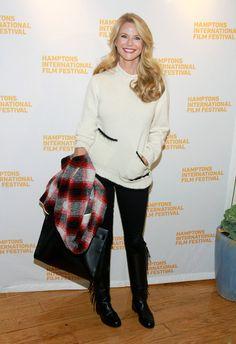 Christie Brinkley Photos - The 2014 Hamptons International Film Festival - Day 4 - Zimbio