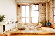 The living room of David Karp (founder and CEO of Tumblr)