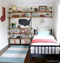 Before and after DIY home projects from Beneath My Heart blog!