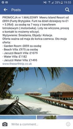 Promotion! Maldives holidays !  Let us make you dreams come true.  Www.theearthtrip.co.uk