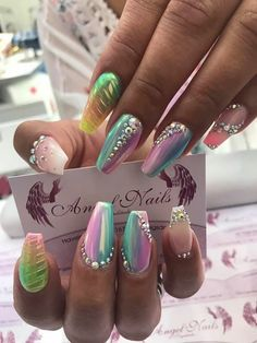 44 Coffin Acrylic Summer Nail Designs 2019 Are you looking for coffin acrylic summer nail designs? See our collection full of coffin acrylic nail designs for summer and get inspired! Fancy Nails, Bling Nails, My Nails, Fabulous Nails, Gorgeous Nails, Pretty Nails, Acrylic Nail Designs, Nail Art Designs, Acrylic Nails