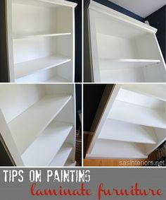 How-To Paint Laminate Furniture