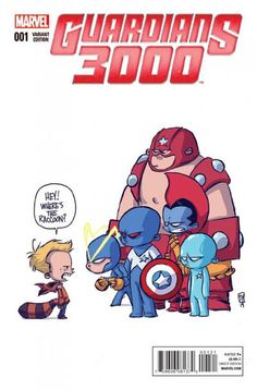 Skottie Young: Guardians 3000 #1